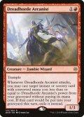 [EN][FOIL]《戦慄衆の秘儀術師/Dreadhorde Arcanist(WAR)》