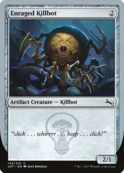 画像1: [EN][FOIL]《Enraged Killbot(UST)》