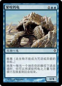 画像1: [CS][FOIL]《方解石のカミツキガメ/Calcite Snapper(WWK)》中国語簡体字