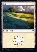 [JP][FOIL]《平地/Plains(ELD)》251/269