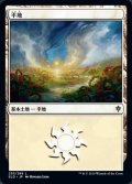 [JP][FOIL]《平地/Plains(ELD)》253/269