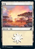 [JP][FOIL]《平地/Plains(IKO)》262/274