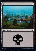 [JP][FOIL]《沼/Swamp(ELD)》260/269