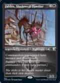 [EN][FOIL]《影猫の使い魔、ファルティス/Falthis, Shadowcat Familiar(CMR)》英エッチングFoil