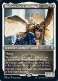 [EN][FOIL]《セラの大天使、レイディアント/Radiant, Serra Archangel(CMR)》英エッチングFoil