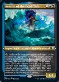 [EN][FOIL]《死の波のアラウミ/Araumi of the Dead Tide(CMR)》英エッチングFoil