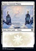 [EN][FOIL]《冠雪の平地/Snow-Covered Plains(KHM)》276/285