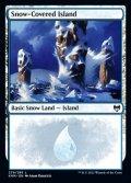 [EN][FOIL]《冠雪の島/Snow-Covered Island(KHM)》279/285