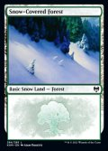 [EN][FOIL]《冠雪の森/Snow-Covered Forest(KHM)》284/285