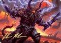 [EN]《ドゥームスカージ、カルダール/Kardur, Doomscourge(KHM)》Art Series Signed 57/81