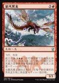 [CS][FOIL]《嵐翼ドラゴン/Stormwing Dragon(DTK)》中国語簡体字