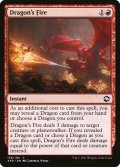 [EN][FOIL]《ドラゴンの火/Dragon's Fire(AFR)》
