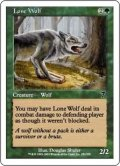 [JP][FOIL]《一匹狼/Lone Wolf(7ED)》