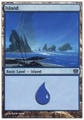 [JP][FOIL]《島/Island(9ED)》 336/350