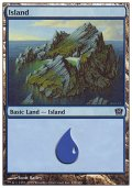 [JP][FOIL]《島/Island(9ED)》 338/350