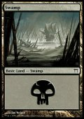 [EN][FOIL]《沼/Swamp(CHK)》 298/306