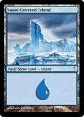[EN][FOIL]《冠雪の島/Snow-Covered Island(CSP)》