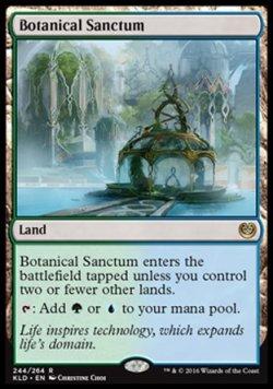 画像1: [EN][FOIL]《植物の聖域/Botanical Sanctum(KLD)》