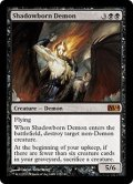 [EN][FOIL]《影生まれの悪魔/Shadowborn Demon(M14)》