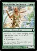 [EN][FOIL]《石蒔きの秘儀司祭/Stone-Seeder Hierophant(RAV)》