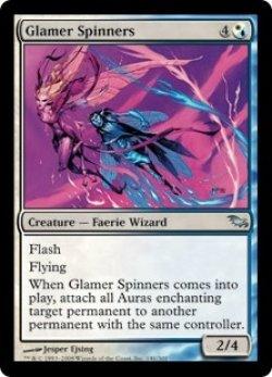 画像1: [EN][FOIL]《魔法を回す者/Glamer Spinners(SHM)》