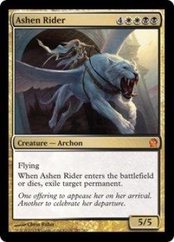 画像1: [EN][FOIL]《灰燼の乗り手/Ashen Rider(THS)》